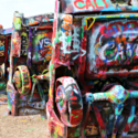Visit Cadillac Ranch in Texas feature