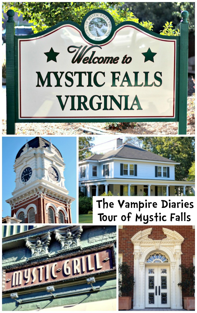 Tour of Mystic Falls - The Vampire Diaries