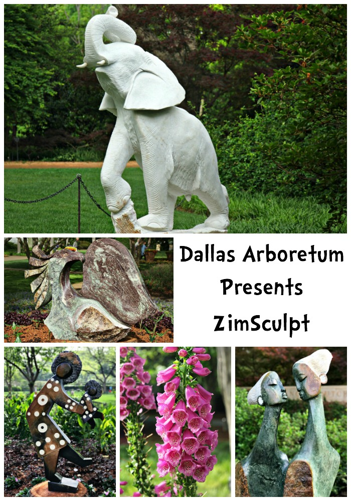 Dallas Arboretum Presents ZimSculpt