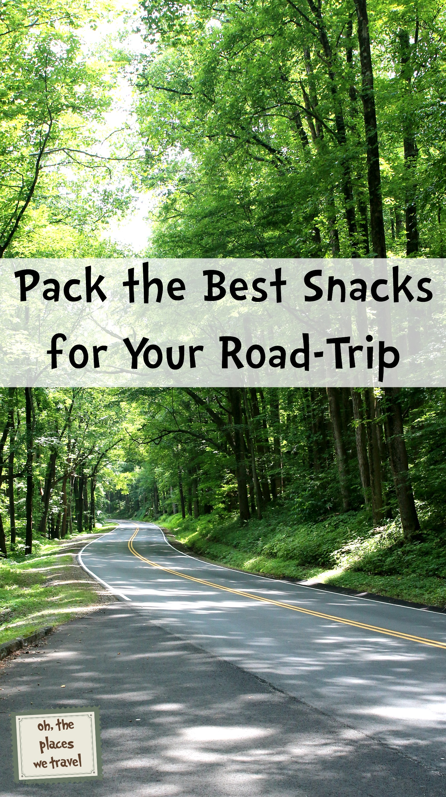 Pack the Best Snacks for Your Road-Trip