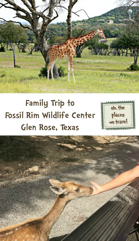 Family Trip to Fossil Rim Wildlife Center