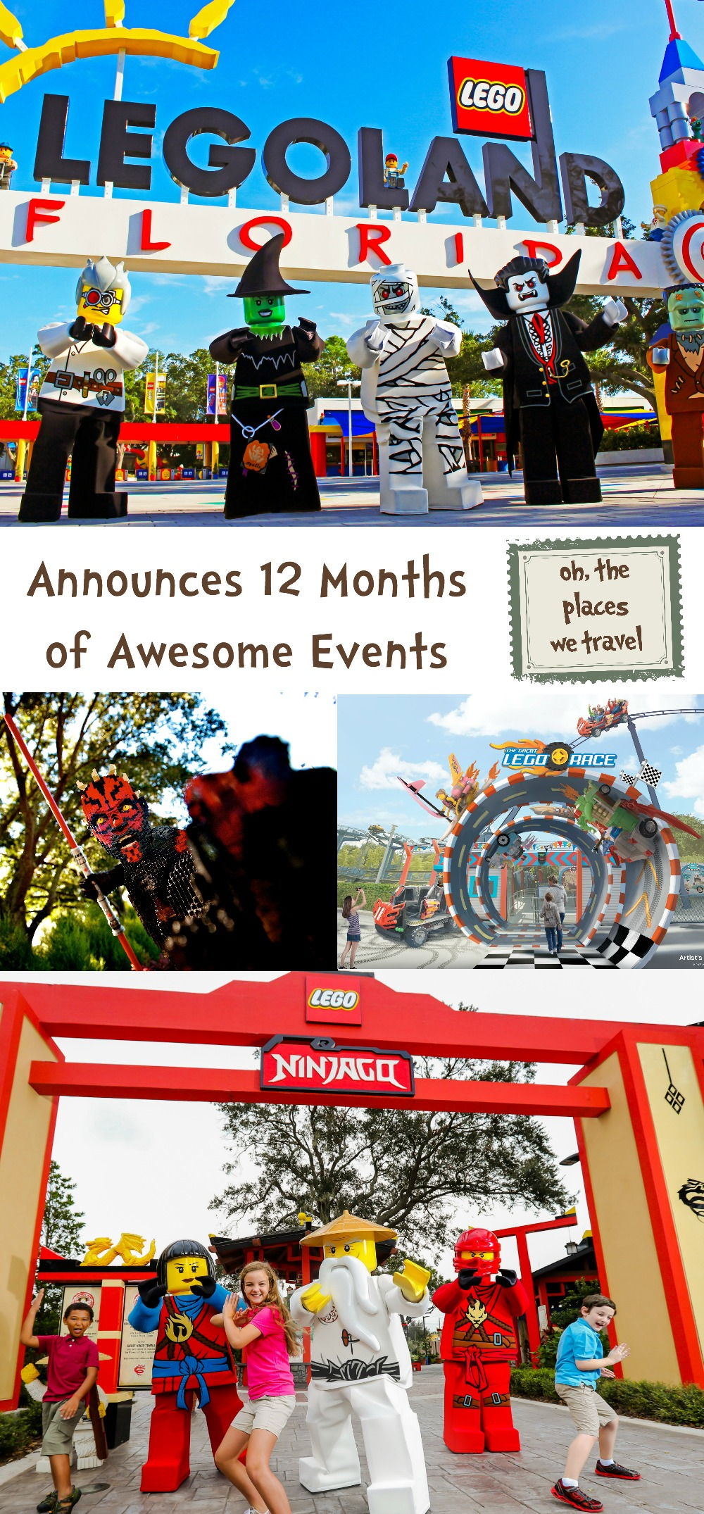 LegoLand 12 Months of Awesome Events